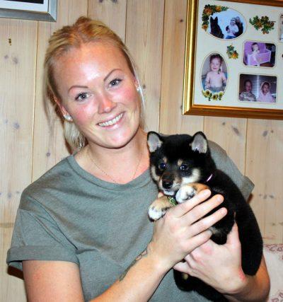 Maja og hennes nye eier, Heidi